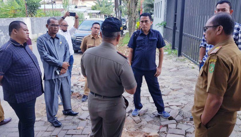 Disoal Warga, DPRD Medan Tinjau Usaha Bengkel tak Berizin