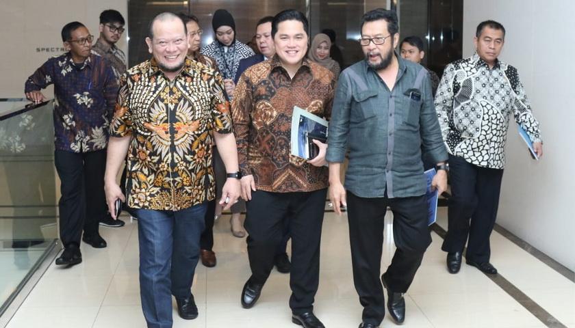 Ketua DPD RI Dukung 'Roadmap' Erick Thohir Tata BUMN