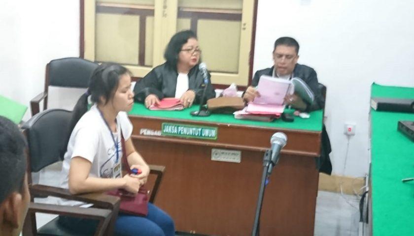 Palsukan Identitas Waris, Apriliani Dituntut 2 Tahun Penjara
