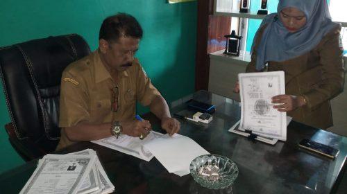 Masyarakat Aceh Singkil Ramai-ramai Daftar Seleksi Perangkat Desa