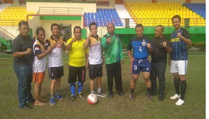Tim Sepakbola Disporasu Siap Menantang SIWO PWI Sumut di Laga Persahabatan