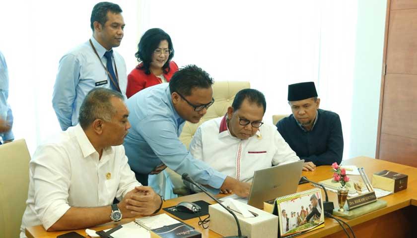 DJP Sumut I Audiensi ke DPRDSU Imbau Warga Laporkan SPT