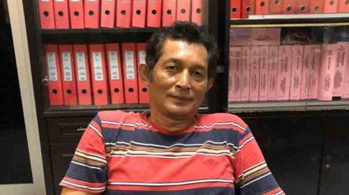 Simbolon, DPO Kejari Dairi Ditangkap di Medan