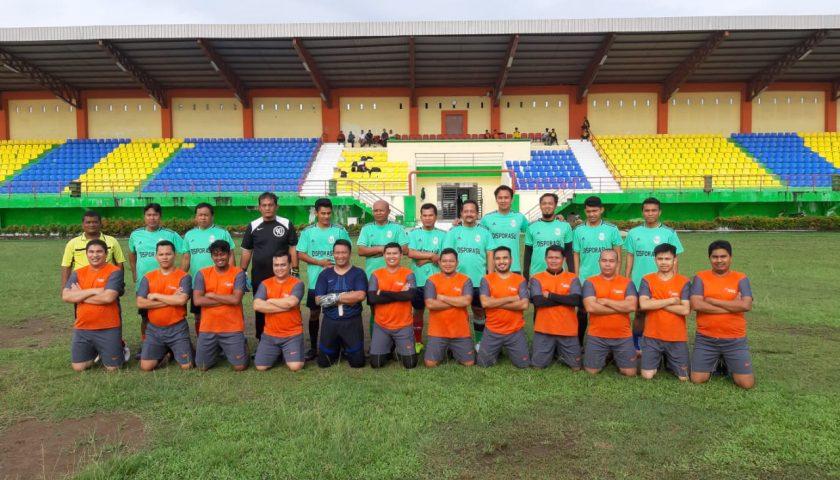 Hattrick Gol Basuki Nugroho Bawa Disporasu Tundukkan Dispora Medan 4-0