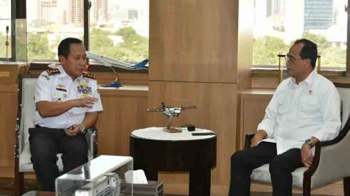 Bertemu Dua Menteri, Kepala Bakamla RI Sampaikan Keinginan Presiden RI