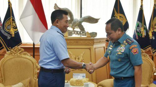 Kepala Bakamla RI Courtesy Call ke Mabes TNI AU