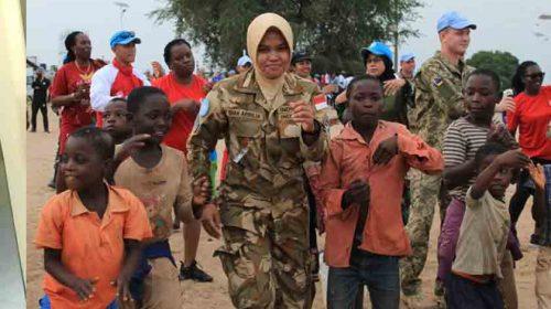 Kolonel Lumbanraja: Pasukan Garuda Monusco Kenalkan Kebudayaan Indonesia di Kongo