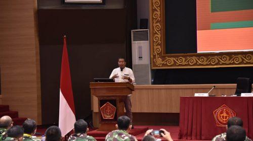 164 Pejabat Penerangan TNI Terima Pembekalan Strategi Opini Publik