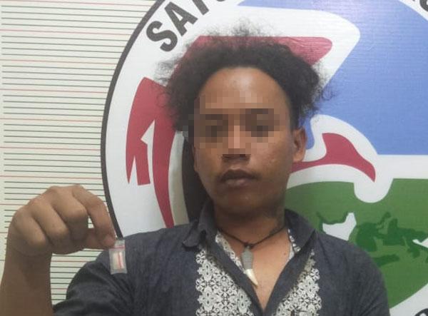 Di Laguboti, Saat Pegang Sabu Pria Ini Ditangkap Polisi