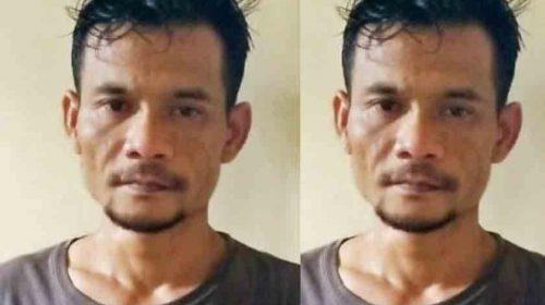 Erianto Warga Asahan Ditangkap Polisi, Terbukti Miliki 91,49 Gram Sabu