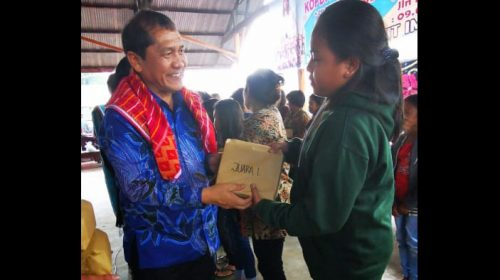 Bupati Karo Terkelin Brahmana Hadiri RAT CU Bahagia ke 39 Tahun di Kabanjahe