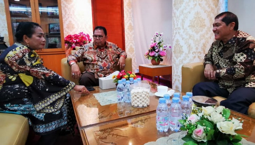 DPRDSU, Bupati, dan DPRD Karo Bahas Pembangunan Jalur Sejajar Berastagi – Tuntungan – Medan