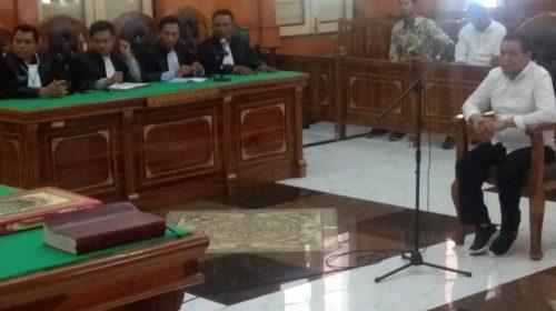 Terbukti Suap Walikota Rp530 Juta, Kadis PU Medan Divonis 2 Tahun Penjara
