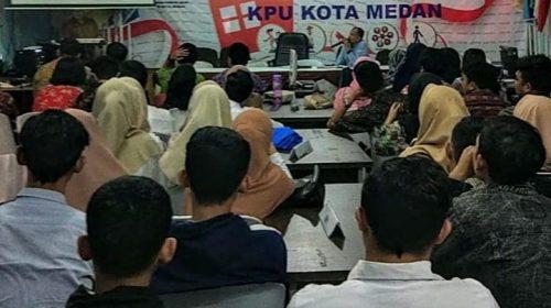 Puluhan Mahasiswa Dilibatkan Dalam Proses Pilkada Medan