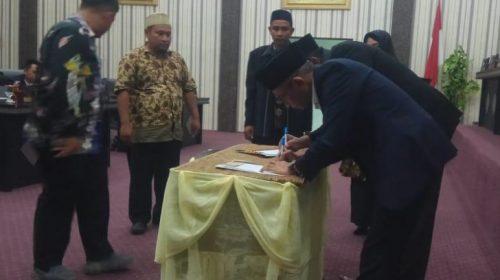 Ini 13 Rancangan Qanun Kabupaten Aceh Singkil Tahun 2020