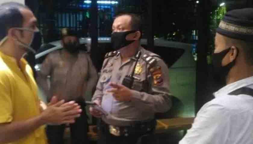 Polisi bubarkan pesta