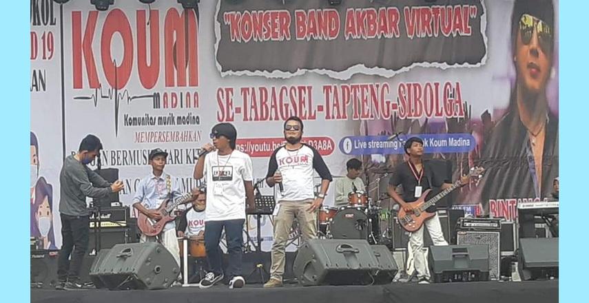konser band virtual