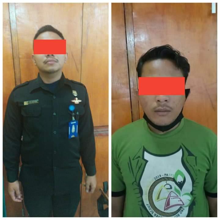 penjaga keamanan DPRD Medan