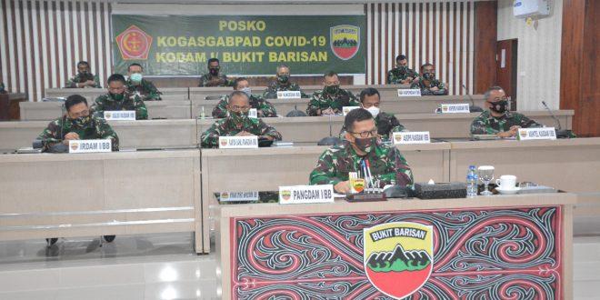 Pangdam Vidcon dengan Panglima TNI terkait Covid-19, Pilkada dan Kondisi Papua