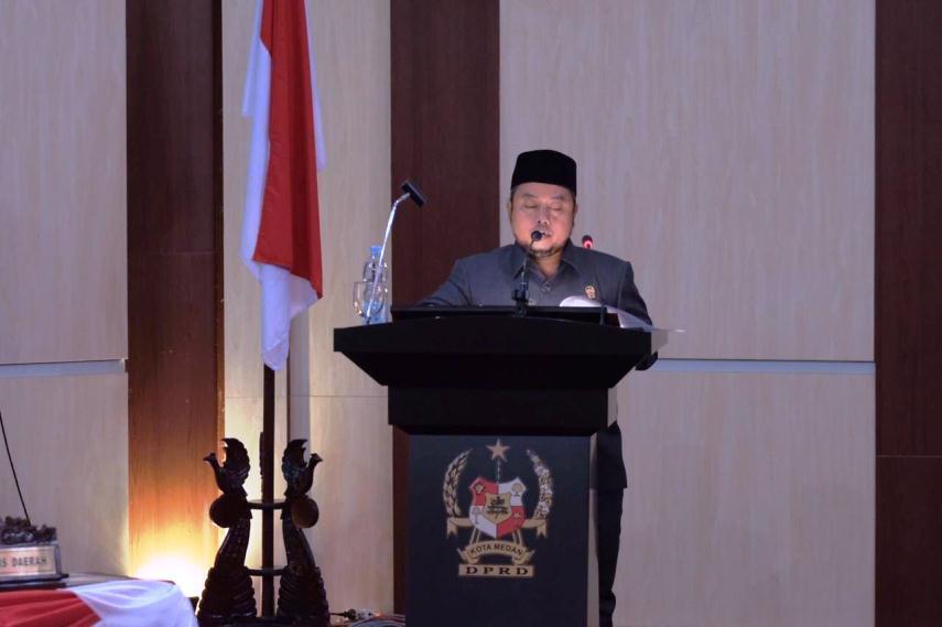 Syaiful Ramadhan, juru bicara F-PKS DPRD Medan