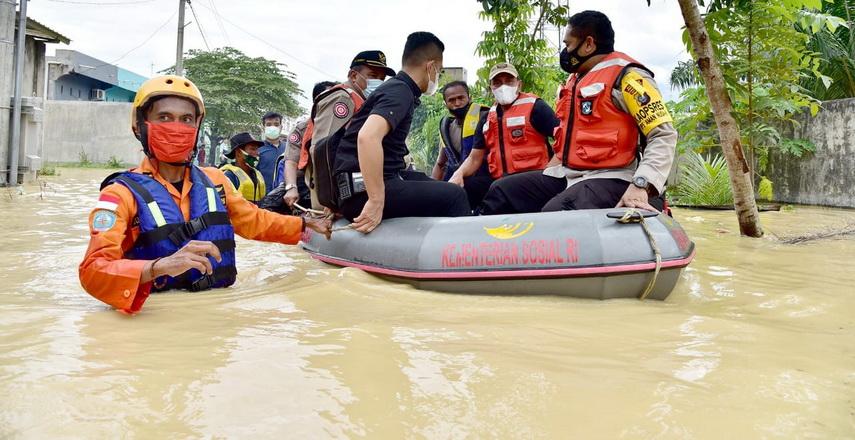 Banjir melanda Tebingtinggi