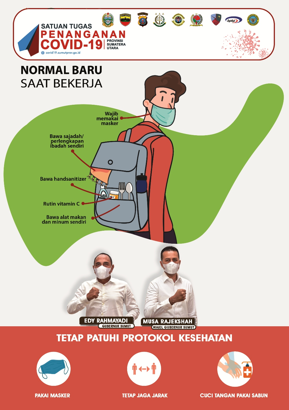 tetap patuhi protokol kesehatan