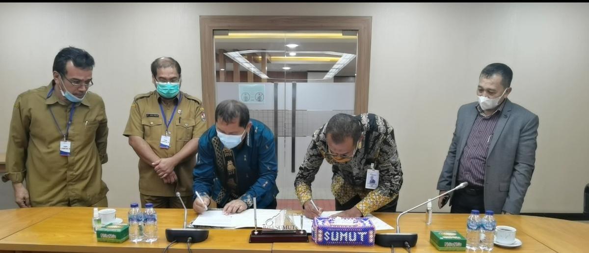 Bupati Karo dan Dirut PT Bank Sumut Sepakat Tambah Tapping Box Libatkan KPK