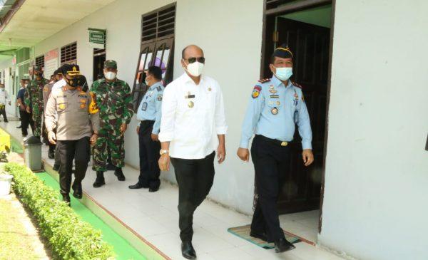 Bupati Taput Kunjungi dan Motivasi Warga Binaan Lapas Siborongborong