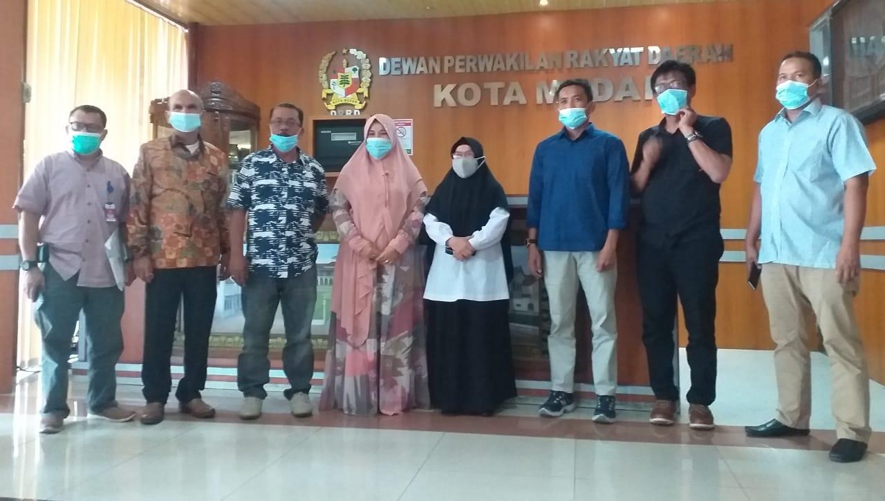 DPRD Pariaman Diskusi Pembentukan Rancangan RKPD untuk Penerapan 2022 dengan DPRD Medan