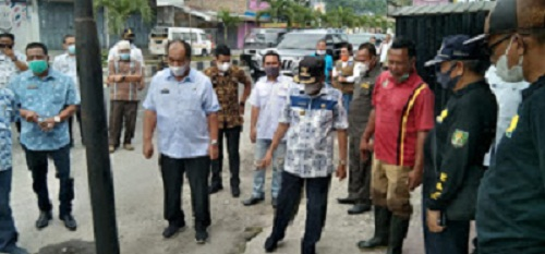 Bupati Asahan Soroti Drainase Tumpat di Jalan Cokroaminoto