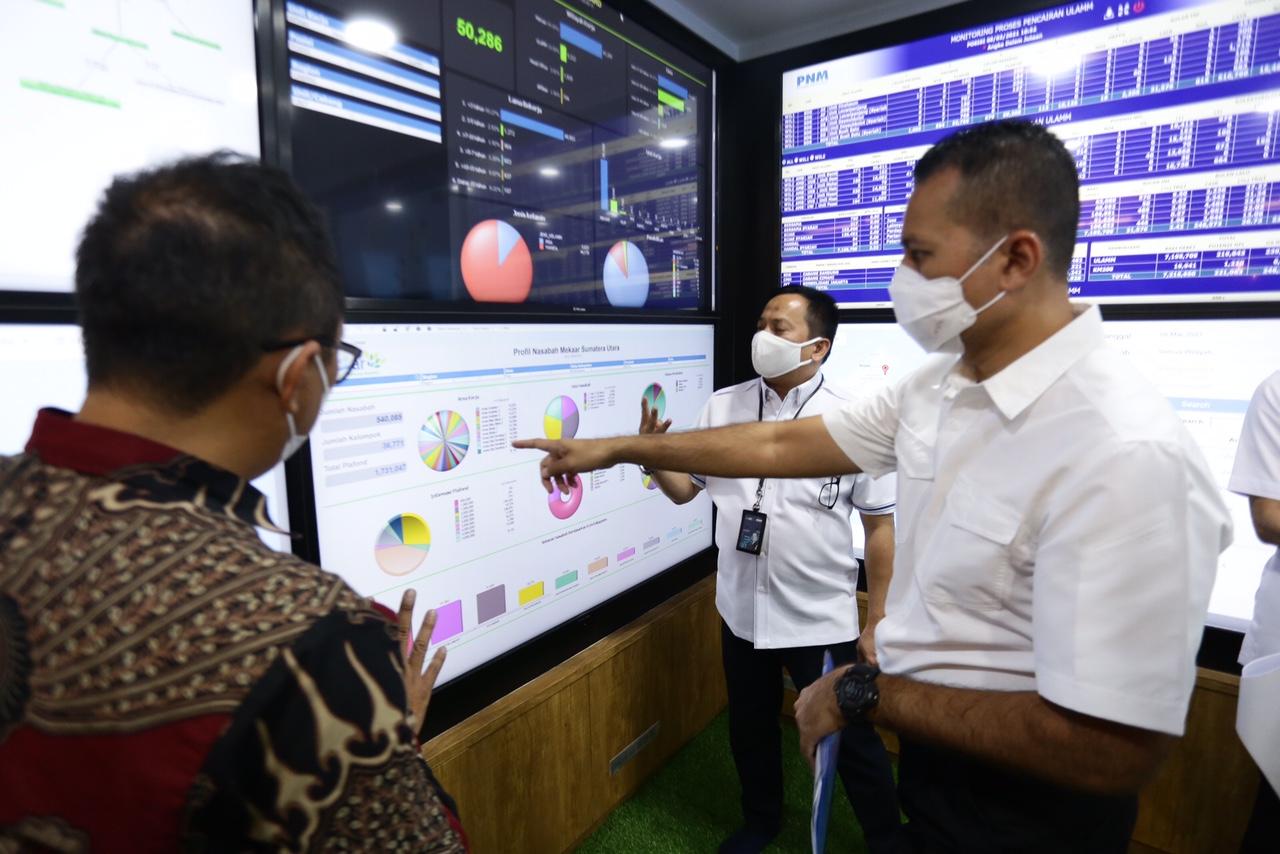 Kunjungi Kantor Pusat di Jakarta, Wagub Minta PNM Menyebar dan Perbanyak Progam di Sumut 2