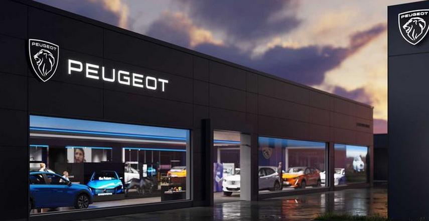 desain logo Peugeot