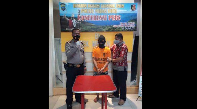 Pekerja Bengkel Gagal Konsumsi Sabu, Keburu Diciduk Polisi