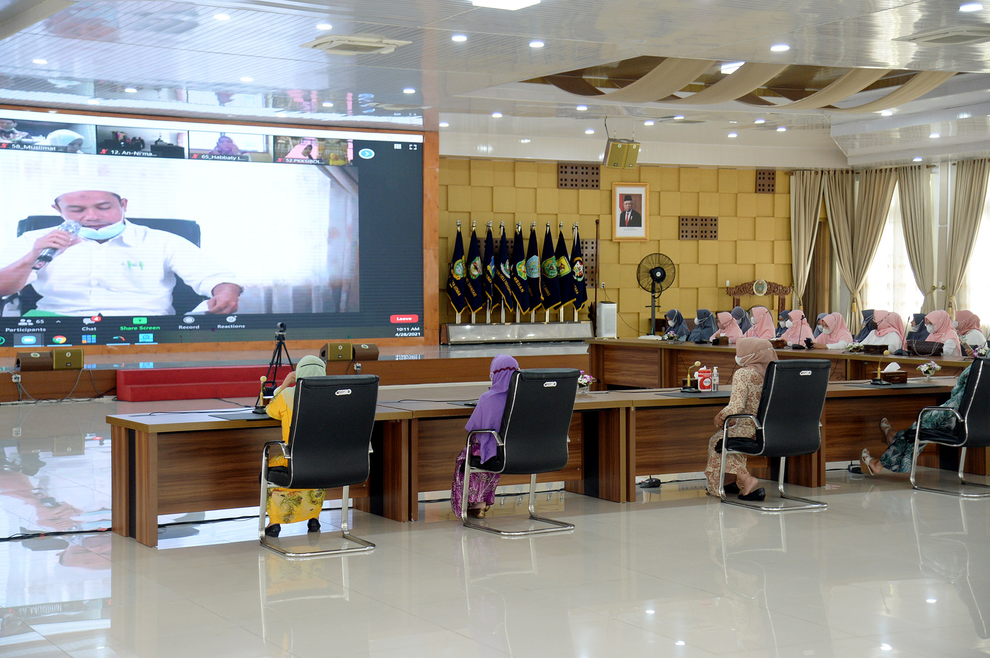 Berikut Pemenang Lomba Selawat Nariyah Virtual-Piala Ibu Gubernur Sumut