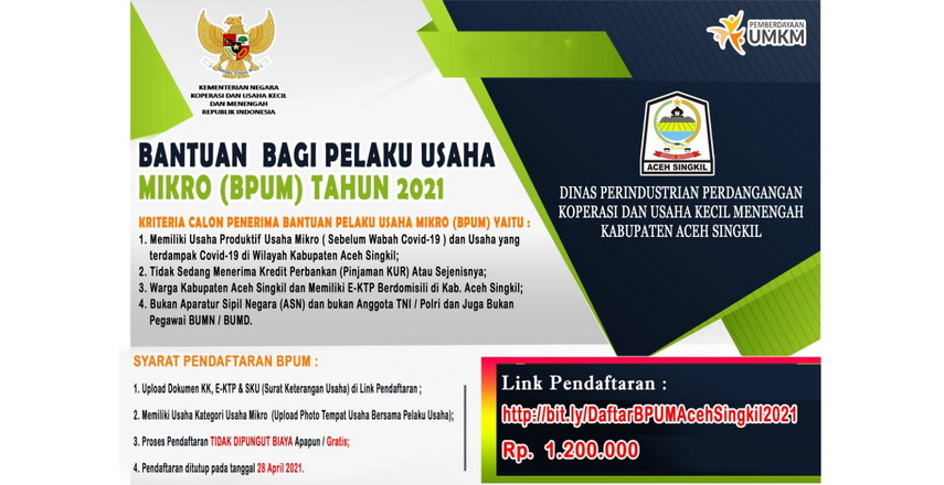 UMKM Aceh Singkil