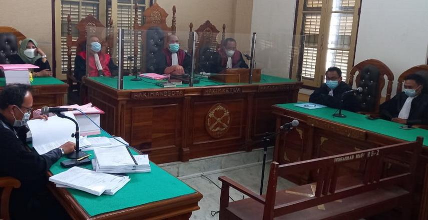 terdakwa korupsi di Tapteng