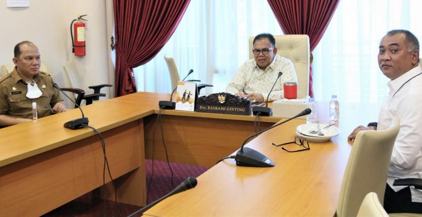 Ketua DPRD Sumut silaturahmi