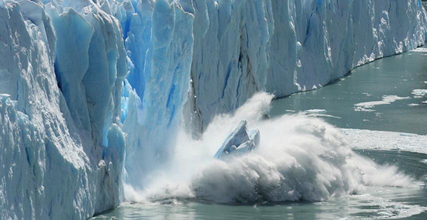 gunung es terbesar dunia