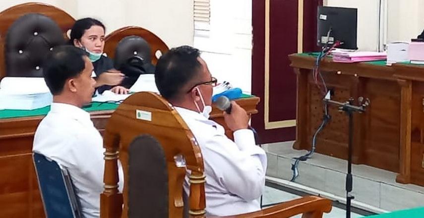 Mantan Bendahara Pengeluaran BNNP (Badan Narkotika Nasional Provinsi) Sumut