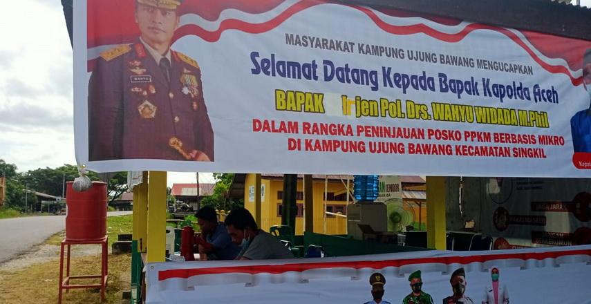 Kedatangan Kapolda Aceh