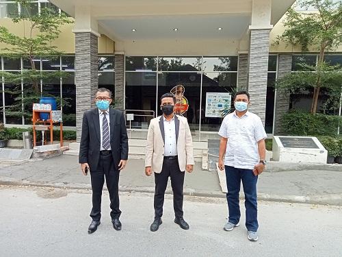 Anggota DPRD Tapsel Laporkan Oknum Penyidik Poldasu