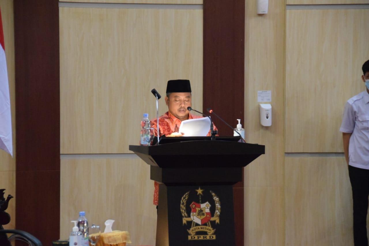 Buruknya Realisasi Pendapatan dari Sektor Parkir dan Retribusi Sampah Jadi Sorotan Fraksi PKS DPRD Medan
