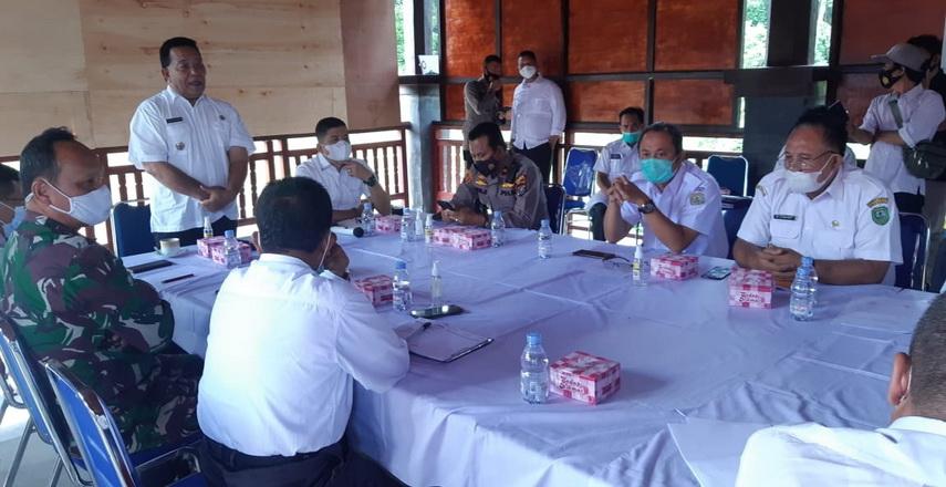 Pemkab Madina melakukan rapat koordinasi