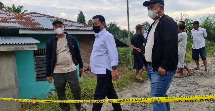 Dirkrimum Poldasu Turun ke TKP Pembunuhan Wartawan di Simalungun