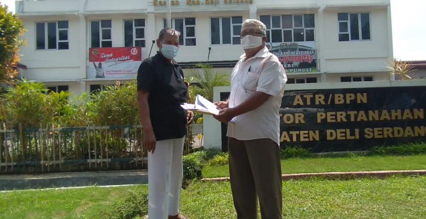 pensiunan PTPN II surati