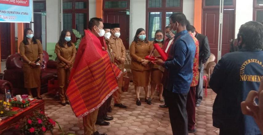 Wakil Bupati Humbahas Oloan Paniaran Nababan SH MH hadiri