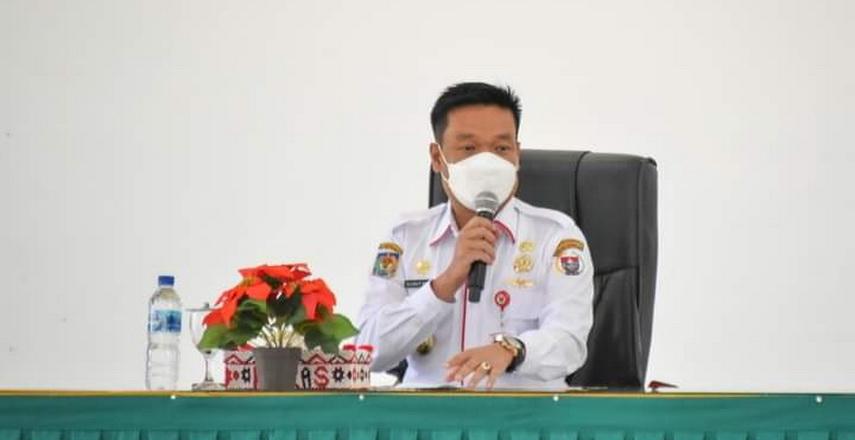 Wakil Bupati Humbahas Buka Persentase SAKIP OPD Pemkab