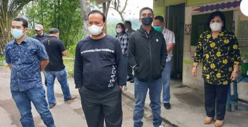 Bupati dan Wakil Bupati Karo Sidak ke Pos Retribusi di Doulu dan Semangat Gunung, Stop Pengutian Retribusi
