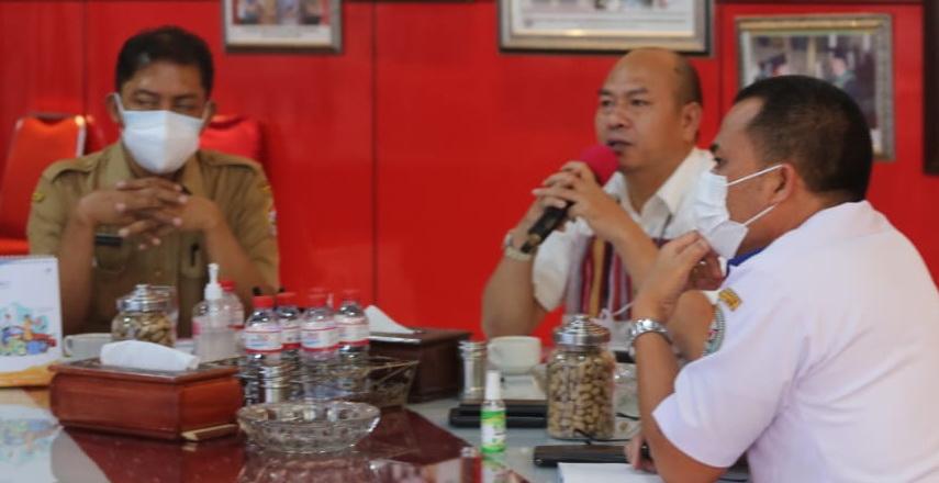 Bupati Taput Ikuti Rakor Perkembangan Isu dan Tindak Lanjut Pengembangan DPSP Danau Toba