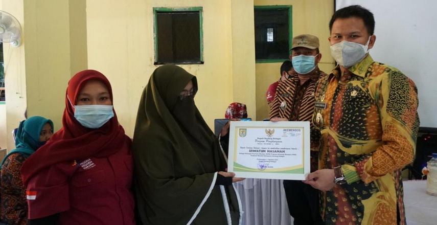 Pemkab Sergai Apresiasi Puluhan KPM dan PKH yang Graduasi Mandiri